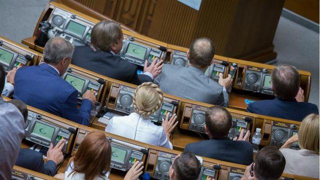 Рада проголосовала за новый состав правительства (Список)