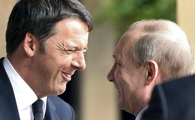Премьер Италии учится у Путина?
