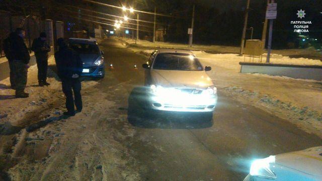 Львовский водитель трижды за одну ночь попался пьяным за рулем