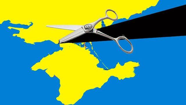 Точка невозврата Крыма на Украину