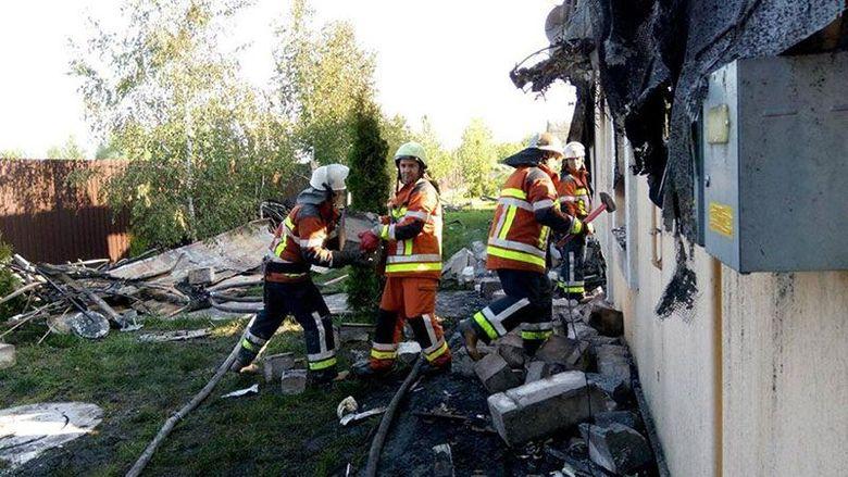Ужасные последствия пожара под Киевом: появились фото