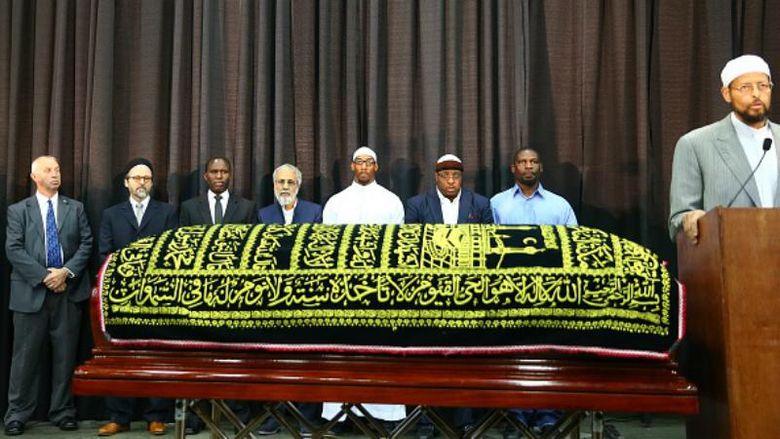 Напохороны Мохаммеда Али приехали около 14 тыс. человек